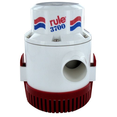 Rule 3700 Non-Automatic Bilge Pump 24V 16A