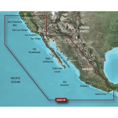 Garmin BlueChart G2 HXUS021R California Mexico 010-C0722-20
