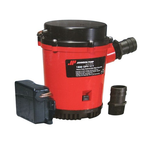 Johnson Pump 1600GPH Ultima Combo Bilge Pump 12V 01674-001
